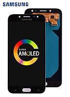 Дисплей для Samsung Galaxy j730 j7 pro 2017 с сенсором (тачскрином) OLED модуль