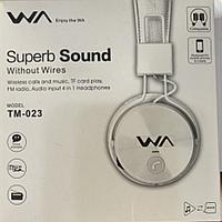 Наушники беспроводные Superb Sound ТМ-023 Белые