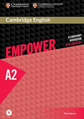 Cambridge English Empower A2 Elementary Workbook with Answers with Downloadable Audio