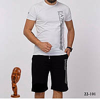 Мужской костюм летний EA7 1272, 1273, 1274, 1275 рус