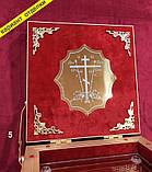 Ковчег из булата на 2-6 мощевиков, размер 24 на 17см, фото 4