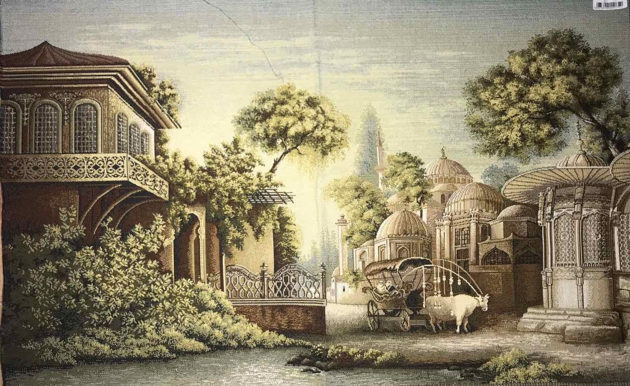 Гобелены старинные Пейзажи Сказка востока