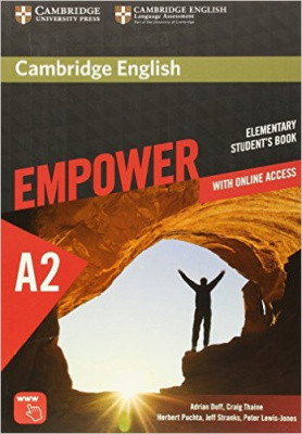 Cambridge English Empower A2 Elementary Student's Book with Online Assessment and Practice, and Online Workbook