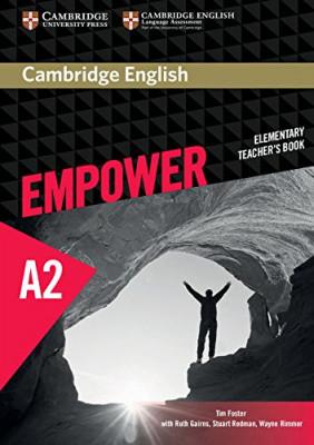 Cambridge English Empower A2 Elementary Teacher's Book