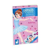 Набор для творчества Janod Бумажные куклы - Балерины (J07839)