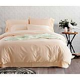 """Комплект двуспальный постельного белья ТМ """"Ловец снов"""", Однотонный бежевый, фото 2"""