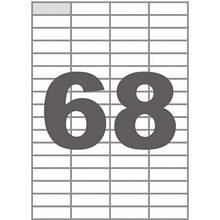 Этикетка самоклеящаяся TAMA 48,5х16,9 (68 на листі) с/кл (100листів) (17798)