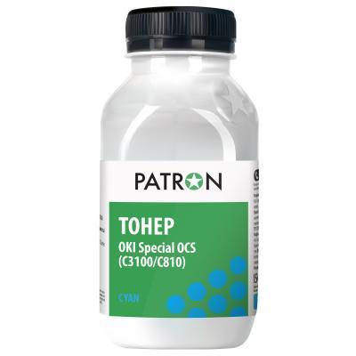 Тонер OKI C3100/C810 CYAN OCS PATRON (T-PN-OCS-C-100)