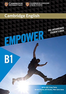 Cambridge English Empower B1 Pre-Intermediate Student's Book