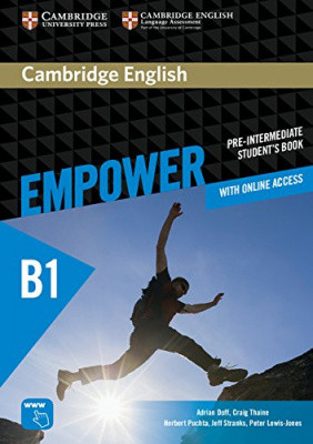 Cambridge English Empower B1 Pre-Intermediate Student's Book with Online Assessment and Practice, and Online Workbook