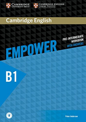 Cambridge English Empower B1 Pre-Intermediate Workbook with Answers with Downloadable Audio