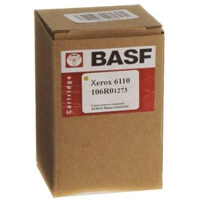 Картридж BASF для Xerox Phaser 6110 аналог 106R01273 Yellow (WWMID-78313)