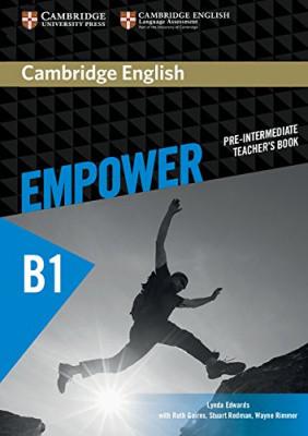 Cambridge English Empower B1 Pre-Intermediate Teacher's Book