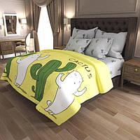 Постельное белье Бязь Gold | Полуторный комплект постельного белья | Постільна білизна Бязь Голд