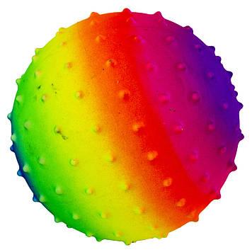"""М'яч масажний 5,5"""" №MS-0939 5кольор.,45g, ПВХ (250)"""