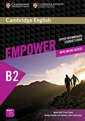 Cambridge English Empower B2 Upper-Intermediate Student's Book with Online Assessment and Practice, and Online Workbook