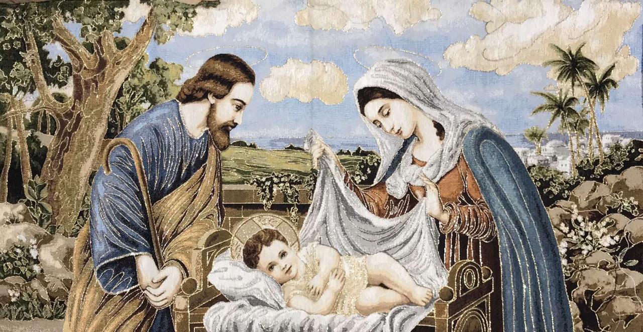 Гобелены Религия Иконы Рождения Иисуса