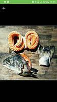 Суповой набор из лосося, 1кг .