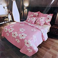 Постельное белье Бязь Gold 155*215 | Полуторный комплект постельного белья | Постільна білизна Бязь Голд