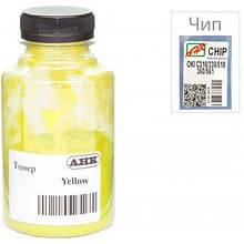 Тонер OKI C310/330/510, 80г Yellow+chip AHK (1505440)