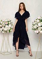 Вечернее платье с шлейфом (44-56), фото 1