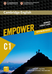 Cambridge English Empower C1 Advanced Student's Book with Online Assessment and Practice, and Online Workbook
