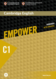Cambridge English Empower C1 Advanced Workbook with Answers with Downloadable Audio