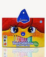 Карандаши цветные пастель масляная 36 цветов, Marco, 1100OP-36CB