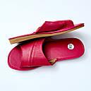 Кожаные тапочки женские 38-39, фото 2