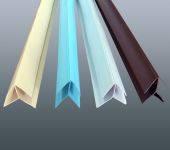 Угол внешний Белый универсальный 8-10мм  101 (упаковка 240 пог м)