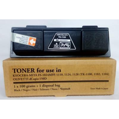 Тонер-картридж Tomoegawa KYOCERA TK-1100+ chip (PY438Y.101)