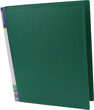 """Папка Economix"""" №E30701-04 A4 на 2кільця d-25мм (O)(зелена)(1)(10)"""