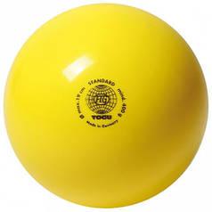 М'яч гімнастичний 400гр, Togu, Німеччина Жовтий