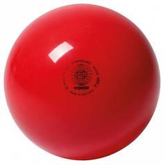 М'яч гімнастичний 400гр, Togu, Німеччина Червоний