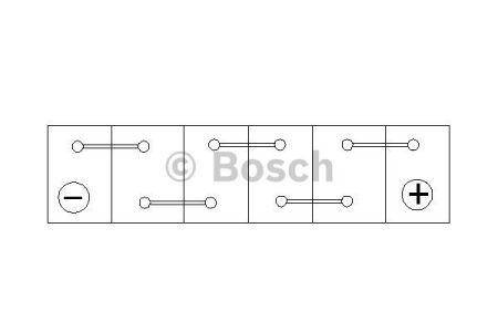 "Audi 80 Аккумулятор Bosch S3 70Ah, EN 640 правый +"" 278 x 175 x 175 (ДхШхВ) BOSCH 0 092 S30 070"", фото 2"
