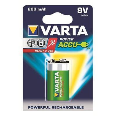Акумулятор Крона Varta Power Accu 6F22 9V 200m (56722101401)