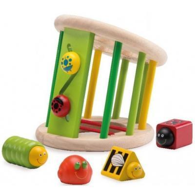 Розвиваюча іграшка WonderWorld Сортер Сад жуков (WED-3047)