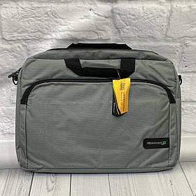 Сумка для ноутбука  GRANDX  серая размер 15.6