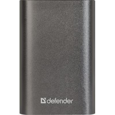 Батарея универсальная Defender Lavita Fast 6000B, 6000mAh, USB*2 + Type-C 3A (83625)