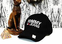 Бейсболка мужская кепка Томи Хилфигер черная