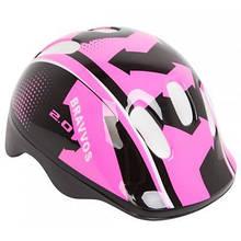 Шлем Velotrade HEL104 черно-розовый детский (HEAD-005)