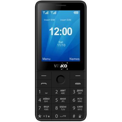 Мобільний телефон Verico Qin S282 Black (4713095606748)