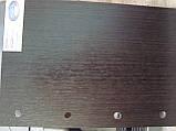 Полуторные двери Рока ПВХ Deluxe Новый стиль, цвет венге, фото 2