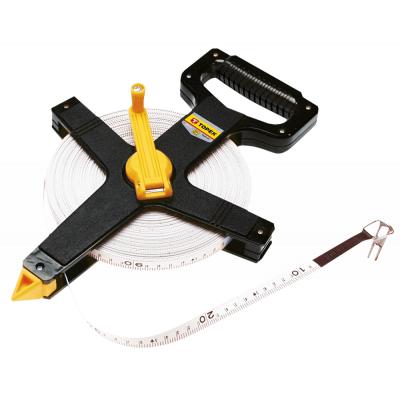 Рулетка Topex стрічка вимірювальна скловолокно, 50 м (28C550)