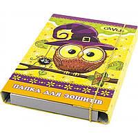 """Папка для тетраей В5 """"Рюкзачок"""" на резинке, ламинированная картон, цветная (10) №ПЗ-1"""