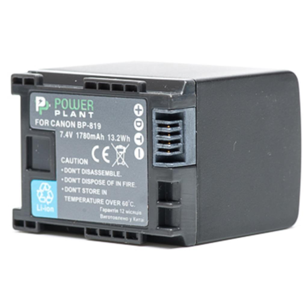 Акумулятор до фото/відео PowerPlant Canon BP-819 Chip (DV00DV1245)
