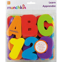 Игрушка для ванной Munchkin Буквы и цифры (01110802)