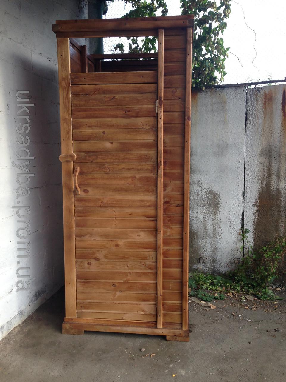 Душевая кабина без крыши - Украинская садыба в Киеве
