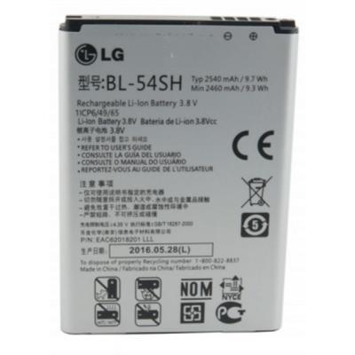 Аккумуляторная батарея для телефона EXTRADIGITAL LG BL-54SH, Optimus G3s (D724) (2540 mAh) (BML6416)