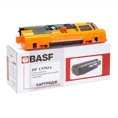 Картридж BASF для HP CLJ 1500/2500 аналог C9703A Magenta (KT-C9703A)